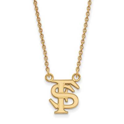 Florida State FS Seminoles 14K Gold Necklace