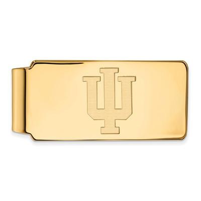 Indiana Hoosiers 14K Gold Money Clip