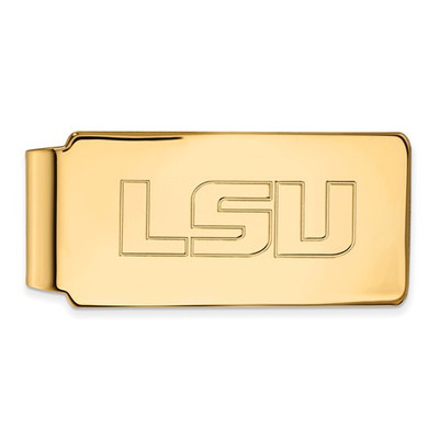 LSU Tigers 14K Gold Money Clip