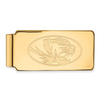 Missouri Tigers 14K Gold Money Clip