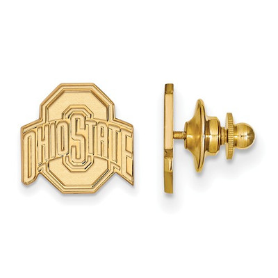Ohio State Buckeyes 14K Gold OSU Lapel Pin