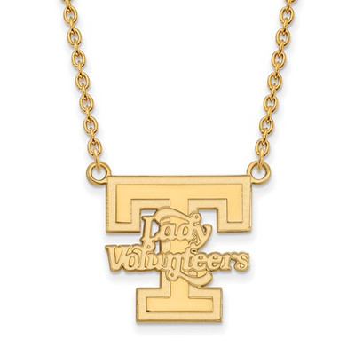 Tennessee Lady Volunteers 14K Gold Pendant Necklace