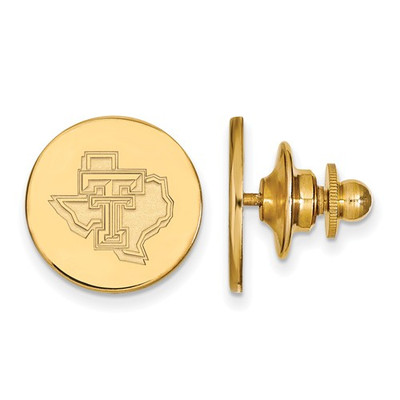 Texas Tech Red Raiders 14K Gold Lapel Pin