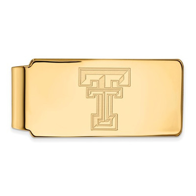 Texas Tech Red Raiders 14K Gold Money Clip