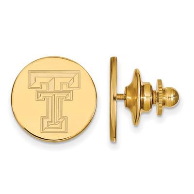 Texas Tech Red Raiders 14K Gold TT Lapel Pin