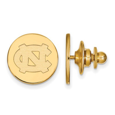 North Carolina Tarheels UNC 14K Gold Lapel Pin