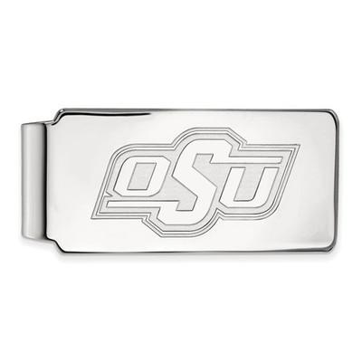 Oklahoma State Cowboys Sterling Silver Money Clip