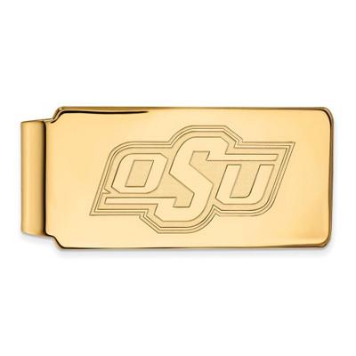 Oklahoma State Cowboys 14K Gold Money Clip