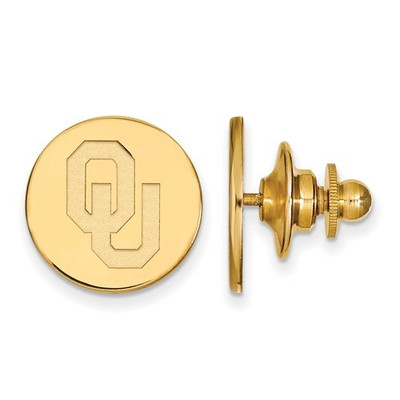 Oklahoma Sooners 14K Gold Lapel Pin