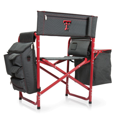 Texas Tech Red Raiders Fusion Tailgating Chair | Picnic Time | 807-00-600-574-0