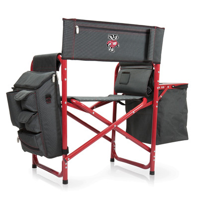 Wisconsin Badgers Fusion Tailgating Chair
