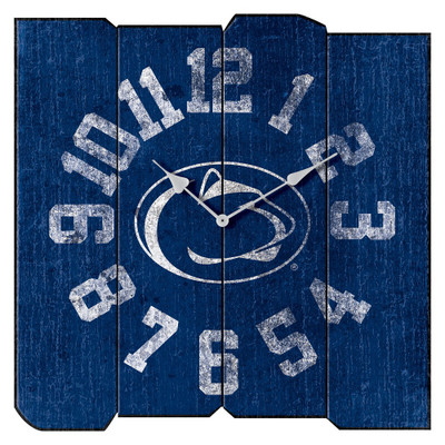 Penn State Nittany Lions Vintage Square Wall Clock