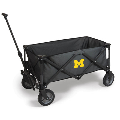 Michigan Wolverines Portable Adventure Wagon