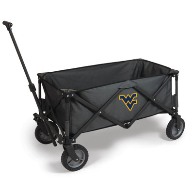 West Virginia Mountaineers Portable Adventure Wagon