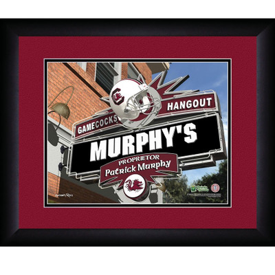 South Carolina Gamecocks Personalized Pub Print