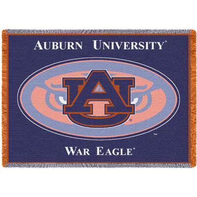 Auburn Tigers Logo Stadium Blanket