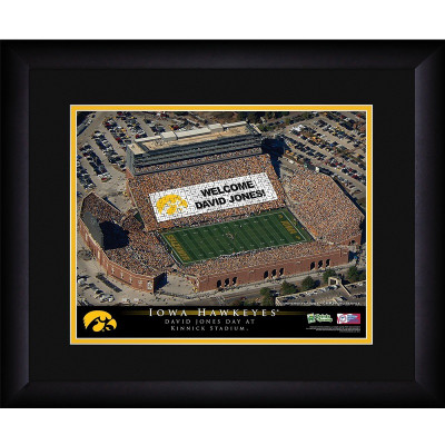 Iowa Hawkeyes Personalized Stadium Print