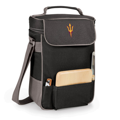 Arizona State Sun Devils Duet Wine and Cheese Picnic Tote
