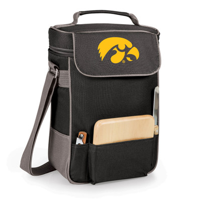 Iowa Hawkeyes Duet Wine and Cheese Picnic Tote