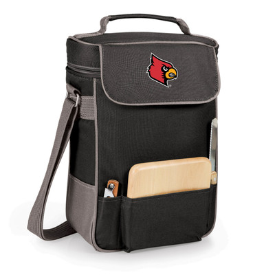 Louisville Cardinals Duet Wine and Cheese Picnic Tote