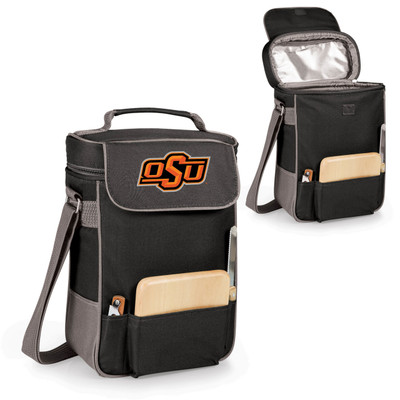 Oklahoma State Cowboys Duet Wine and Cheese Picnic Tote