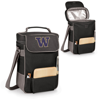 Washington Huskies Duet Wine and Cheese Picnic Tote