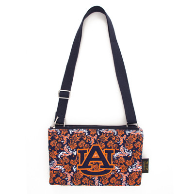 Auburn Tigers Quilted Cotton Crossbody Purse