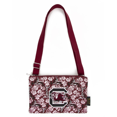 South Carolina Gamecocks Quilted Cotton Crossbody Purse