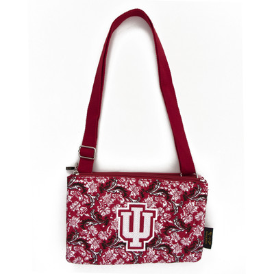 Indiana Hoosiers Quilted Cotton Crossbody Purse
