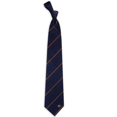 Auburn Tigers Oxford Woven Silk Tie