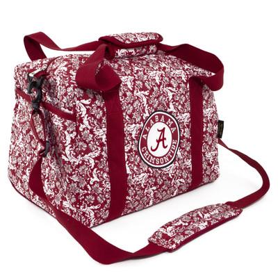 Alabama Crimson Tide Quilted Cotton Mini Duffle Bag