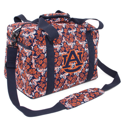 Auburn Tigers Quilted Cotton Mini Duffle Bag