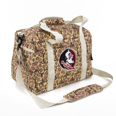 Florida State Seminoles Quilted Cotton Mini Duffle Bag