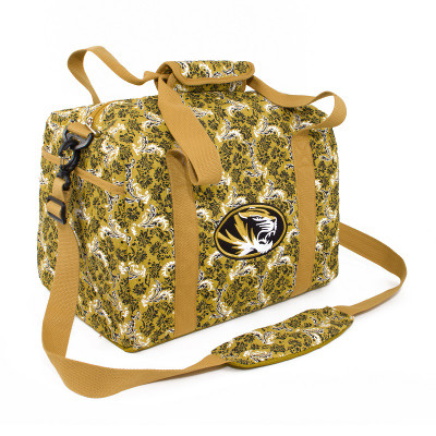 Missouri Tigers Quilted Cotton Mini Duffle Bag
