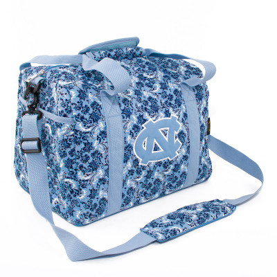 UNC Tar Heels Quilted Cotton Mini Duffle Bag