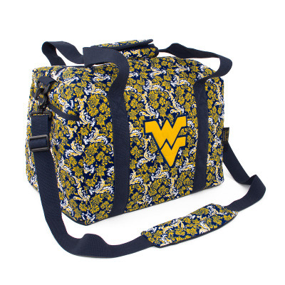 West Virginia Mountaineers Quilted Cotton Mini Duffle Bag