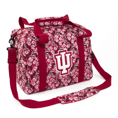 Indiana Hoosiers Quilted Cotton Mini Duffle Bag