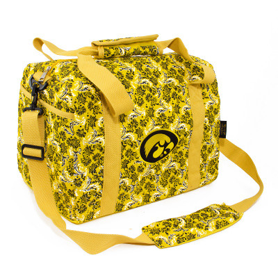 Iowa Hawkeyes Quilted Cotton Mini Duffle Bag