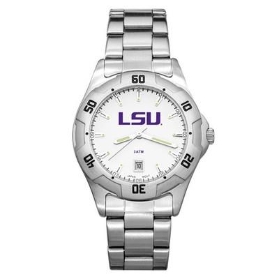LSU Tigers Men's All-Pro Men's Chrome Watch