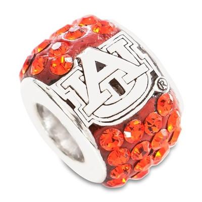 Auburn Tigers Logo Sterling Silver Bracelet Bead Charm