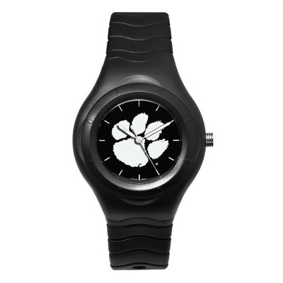 Clemson Tigers Men's Shadow Black Sports Watch