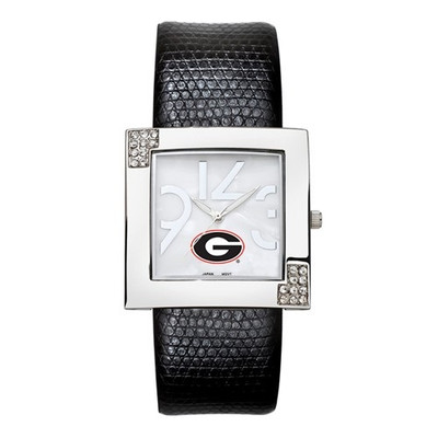 Georgia Bulldogs Women's Chrome Ladies Glamour Watch