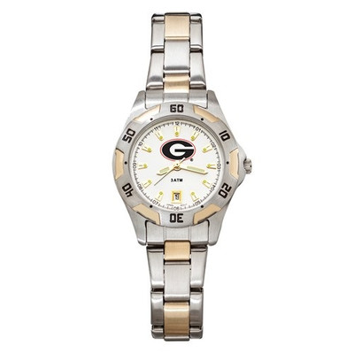 Georgia Bulldogs Women's All Pro Chrome Watch