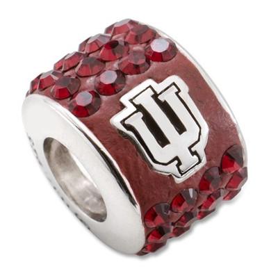 Indiana Hoosiers Sterling Silver Bracelet Bead Charm