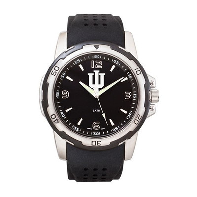 Indiana Hoosiers Men's Stealth Sports Watch
