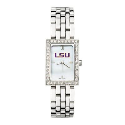 LSU Tigers Women's Allure Stainless Steel Watch