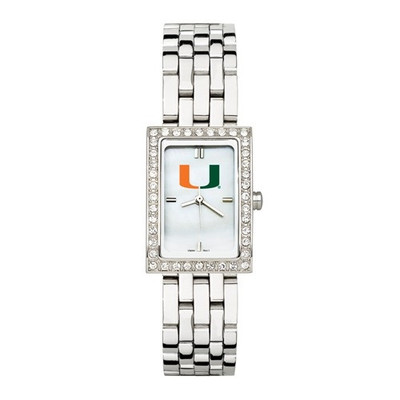 Miami Hurricanes  Women's Allure Stainless Steel Watch