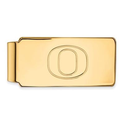 Oregon Ducks 14K Gold Money Clip
