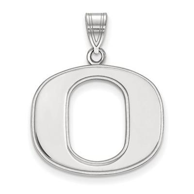 Oregon Ducks Sterling Silver Pendant