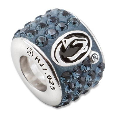 Penn State Lions Logo Sterling Silver Bracelet Bead Charm